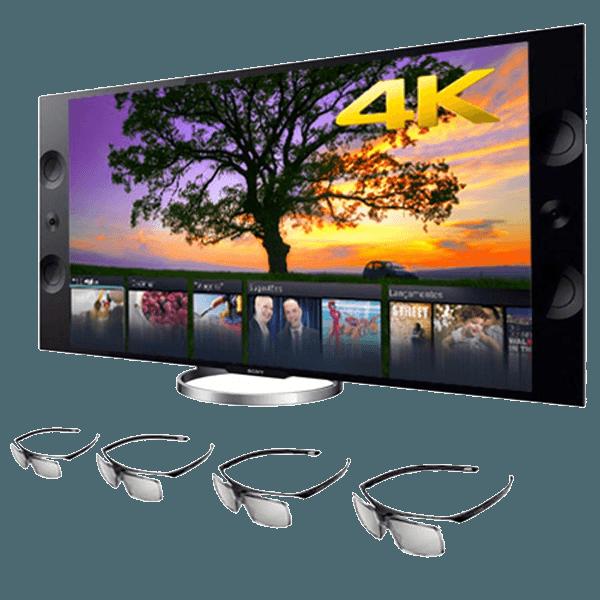 tv 3d 4k casas bahia