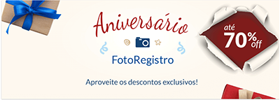 Aniversário FotoRegistro