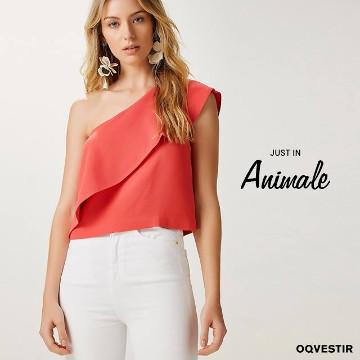 OQVestir modelo usando Animale