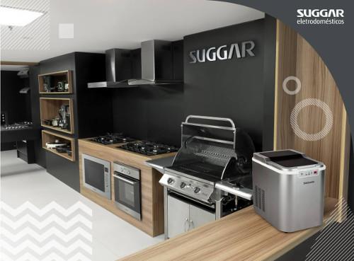 Cozinha com eletrodoméstricos Suggar