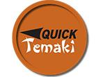 Cupom de desconto - Quick Temaki