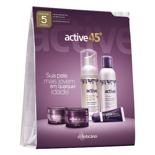 Cupom de desconto - Kit Antissinais Avançados 45+ Active Por R$ 77,90