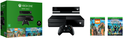 Cupom de desconto - R$ 1.300 OFF em Console Xbox One 500 Gb + Kinect + 2 Jogos