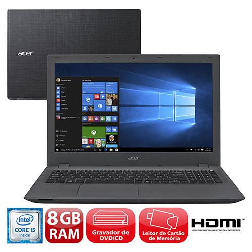 Cupom de desconto - 9% OFF em Notebook Acer Aspire com Intel® Core™ i5-6200U, 8GB, 1TB