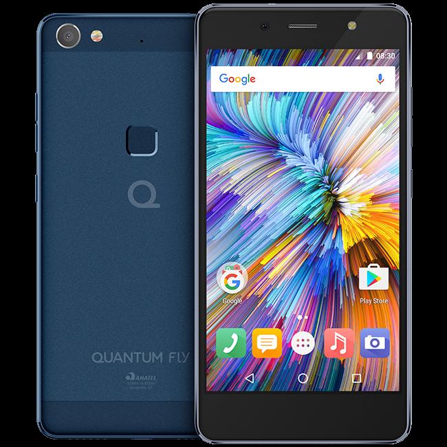 Cupom de desconto - R$ 350 OFF em Quantum Fly 32GB Aurora Blue