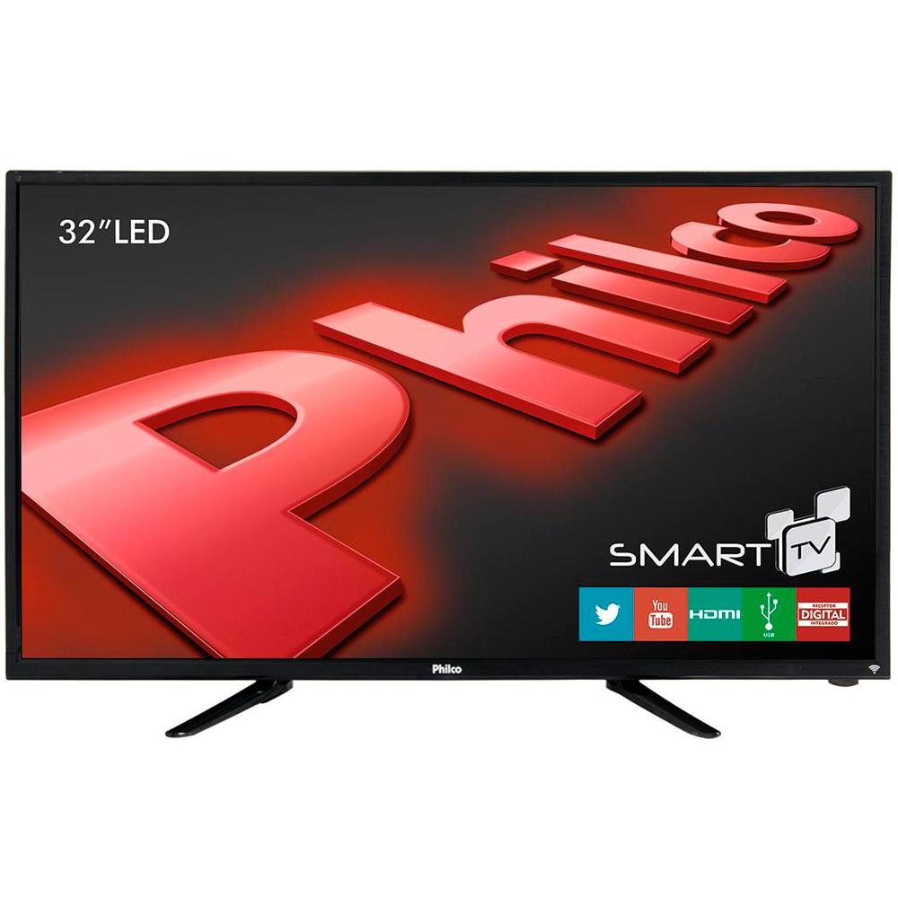 Cupom de desconto - 14% OFF em Smart TV Philco LED 32´ HD com Conversor Digital