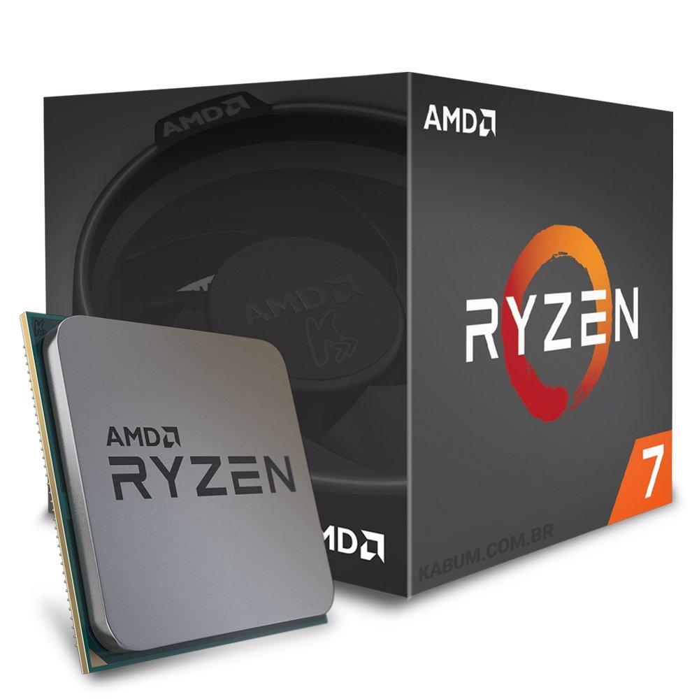 Cupom de desconto - 15% OFF em Processador AMD Ryzen 7 1700 c/ Wraith Spire, Octa Core*