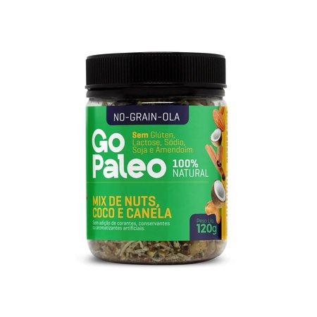 Cupom de desconto - No-Grain-Ola - Mix de Nuts, Coco e Canela - 120g Por R$ 29,90