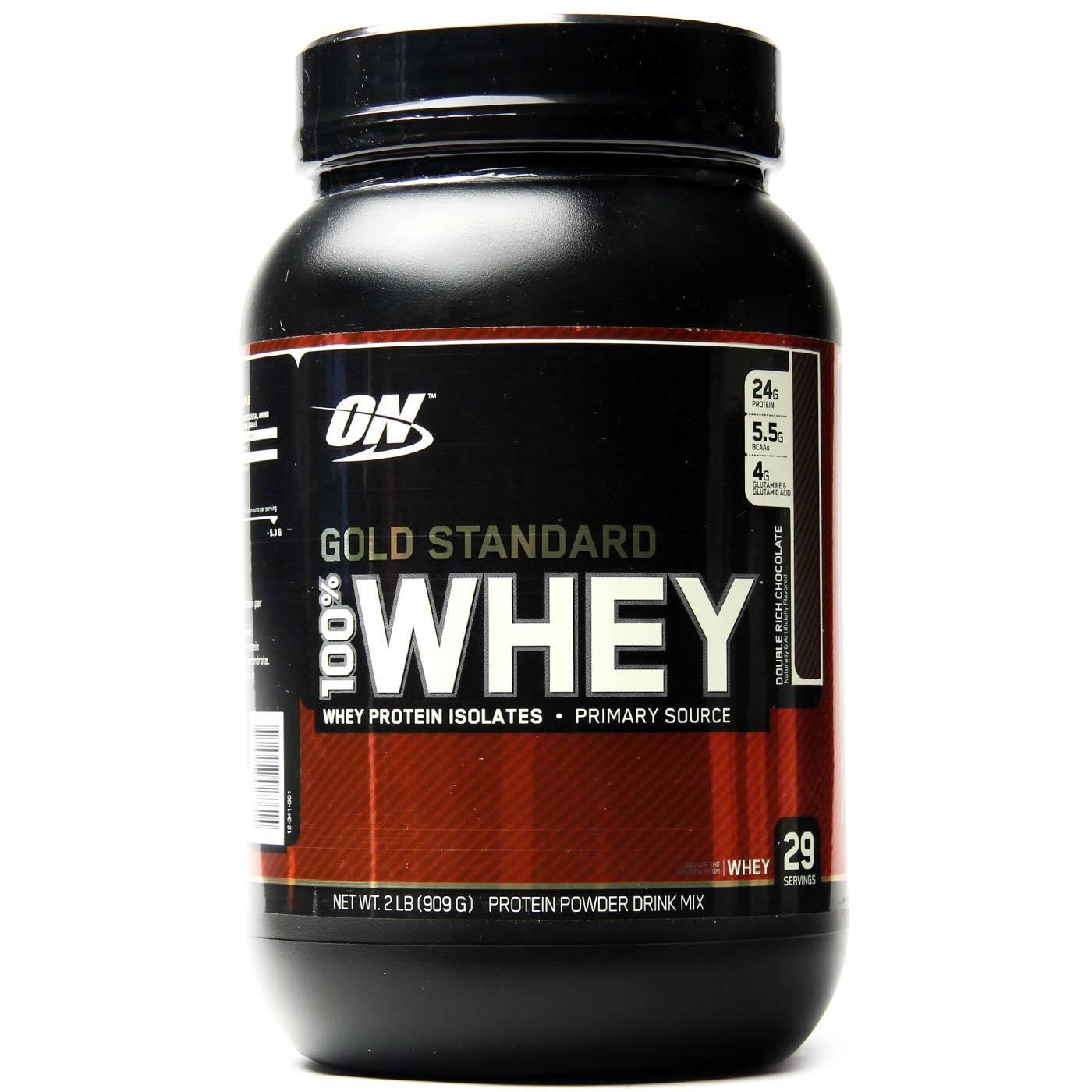 Cupom de desconto - 28% OFF em Whey Protein Optimum Nutrition Double Rich Chocolate 2 lbs / 909 g