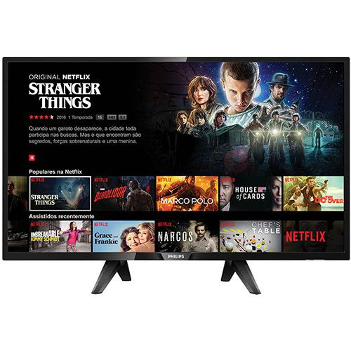"""Cupom de desconto - Aniversário Americanas: 5% OFF em Smart TV LED Philips 43"""" com Conversor Digital"""