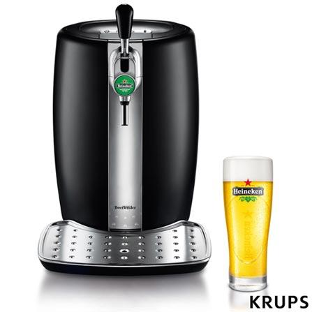 Cupom de desconto - 28% OFF em Chopeira Beertender Krups Heineken 5 L