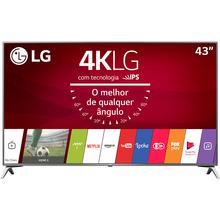 """Cupom de desconto - R$ 800 OFF em Smart TV LED 43"""" Ultra HD 4K LG Wi-Fi Integrado"""