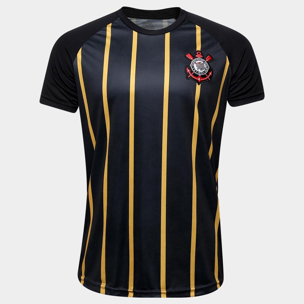 Cupom de desconto - 50% OFF em Camisa Corinthians Gold - Edição Limitada Masculina