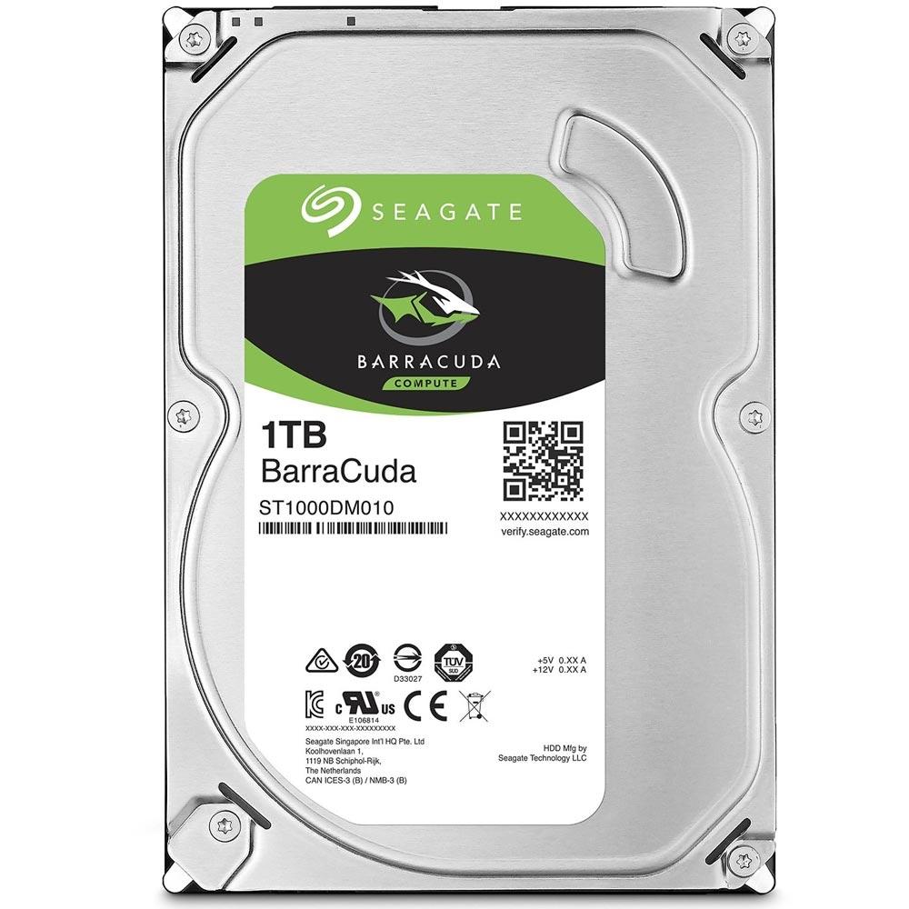 Cupom de desconto - HD Seagate SATA 3,5´BarraCuda 1TB Por R$ 204,90
