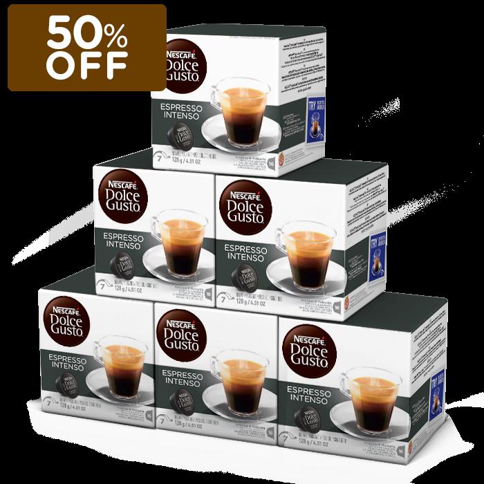 Cupom de desconto - 50% OFF em Espresso Intenso