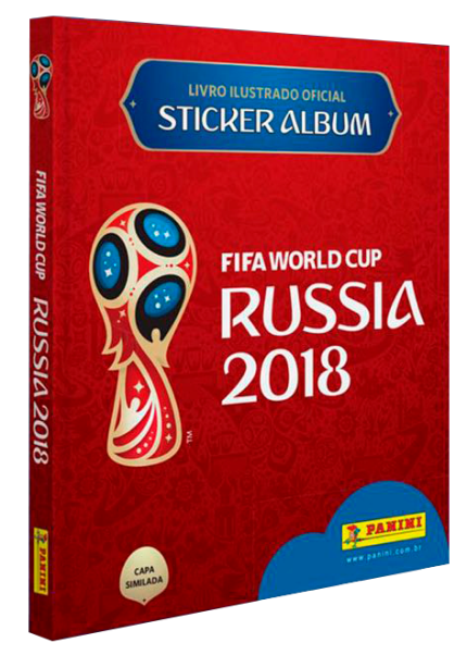 Cupom de desconto - Pré-Venda: Álbum da Copa do Mundo da Rússia (capa dura) + 12 Envelopes Por R$ 49,90