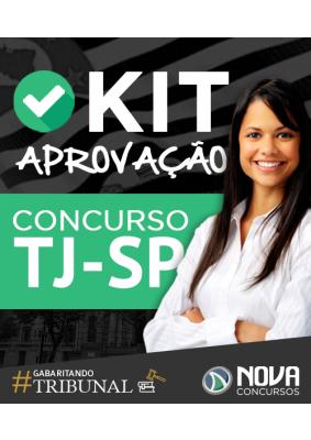 Cupom de desconto - R$ 225 OFF + Frete Grátis em Kit Aprovação TJ-SP - Escrevente Técnico Judiciário