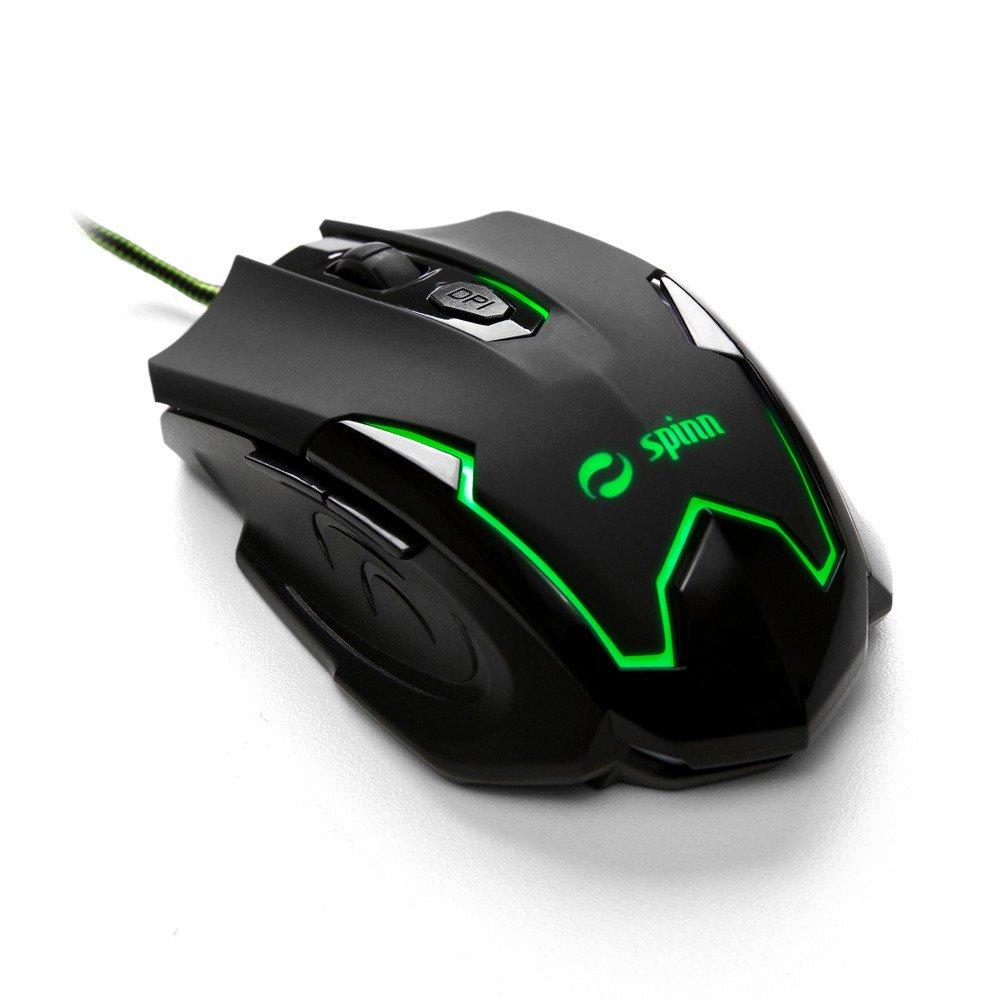 Cupom de desconto - Mouse Gamer Spinn Army Line Por R$ 25,90