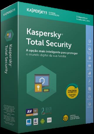 Cupom de desconto - R$ 56 OFF em Kaspersky Total Security