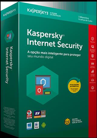 Cupom de desconto - R$ 40 OFF em Kaspersky Internet Security