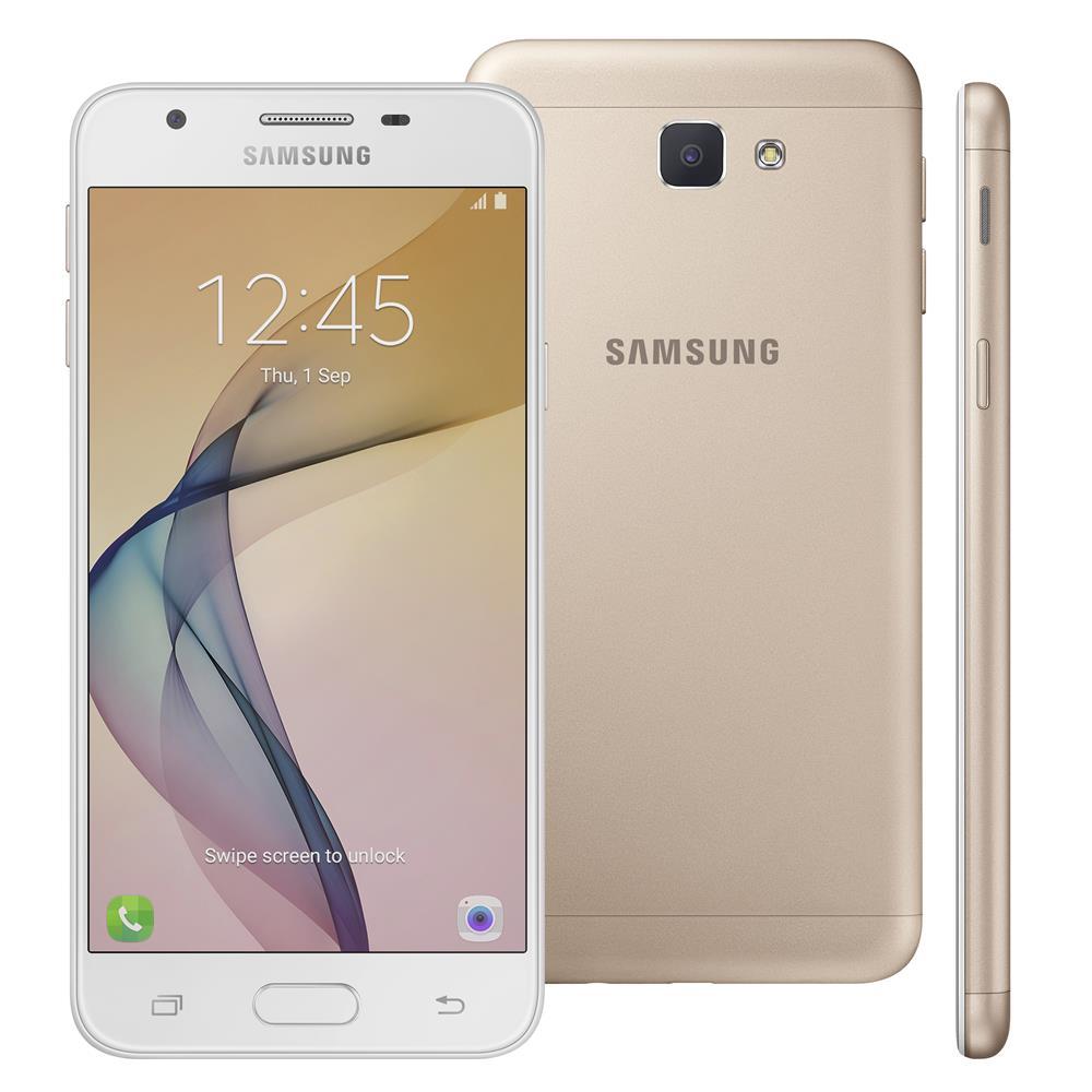 Cupom de desconto - R$260 OFF em Smartphone Samsung Galaxy J5 Prime Dourado 32GB