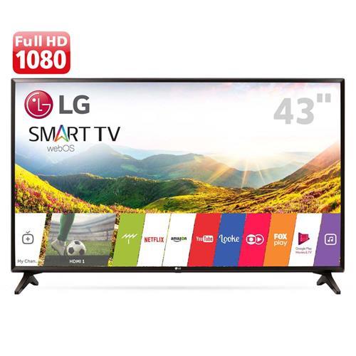 """Cupom de desconto - R$400 OFF em Smart TV LED 43"""" Full HD LG"""