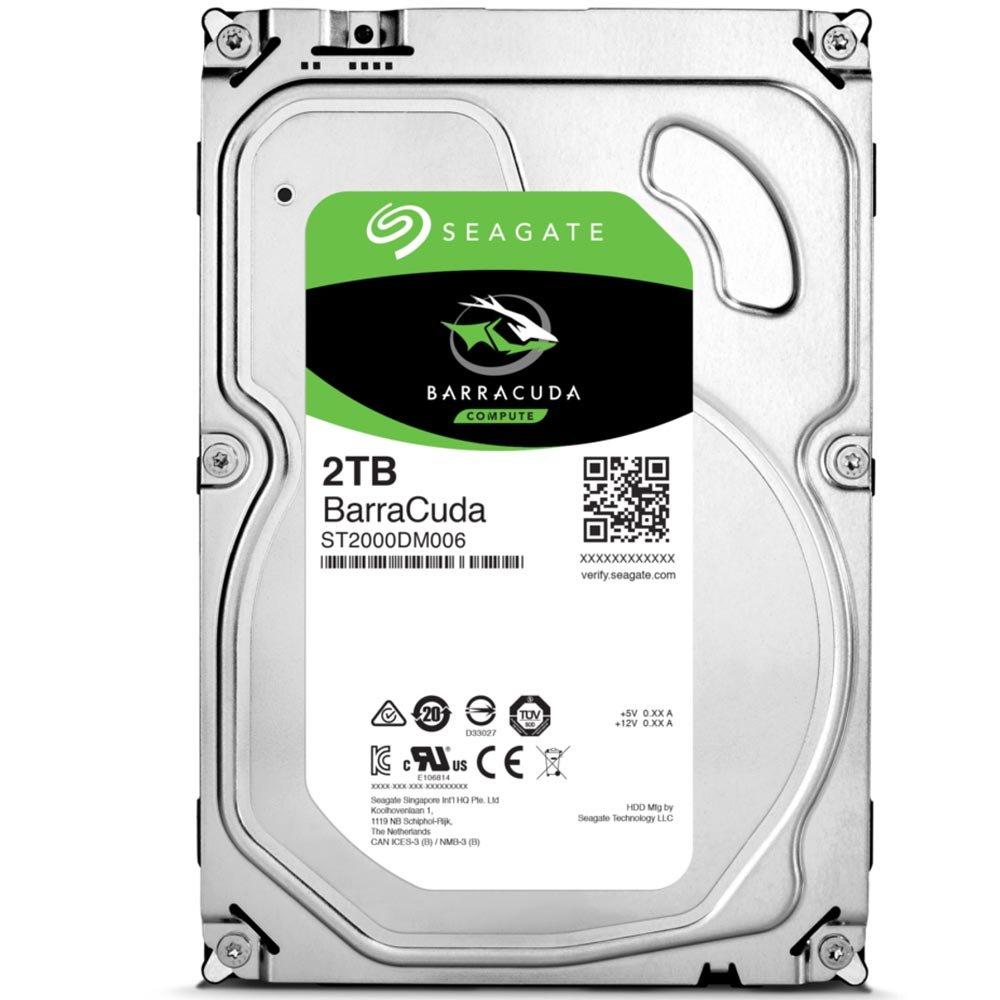 Cupom de desconto - R$55 OFF em HD Seagate SATA 3,5´ BarraCuda 2TB