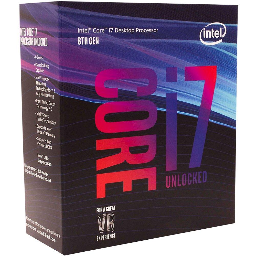 Cupom de desconto - R$76 OFF em Processador Intel Core i7-8700k Coffee Lake