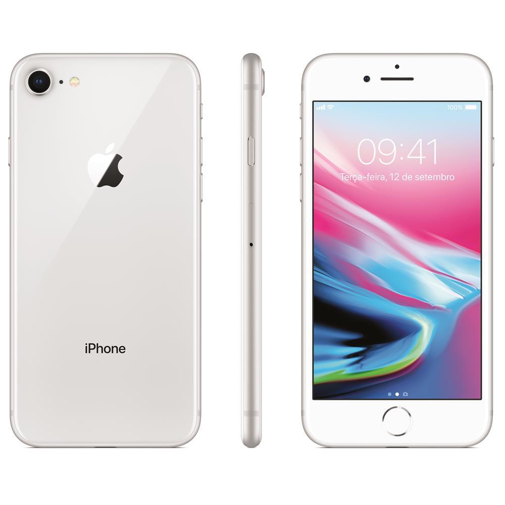 Cupom de desconto - iPhone 8 Apple com 64GB Prateado por R$3399
