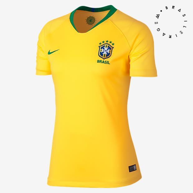 Cupom de desconto - Camisa Nike Brasil I 2018/19 Feminina Por R$249,90