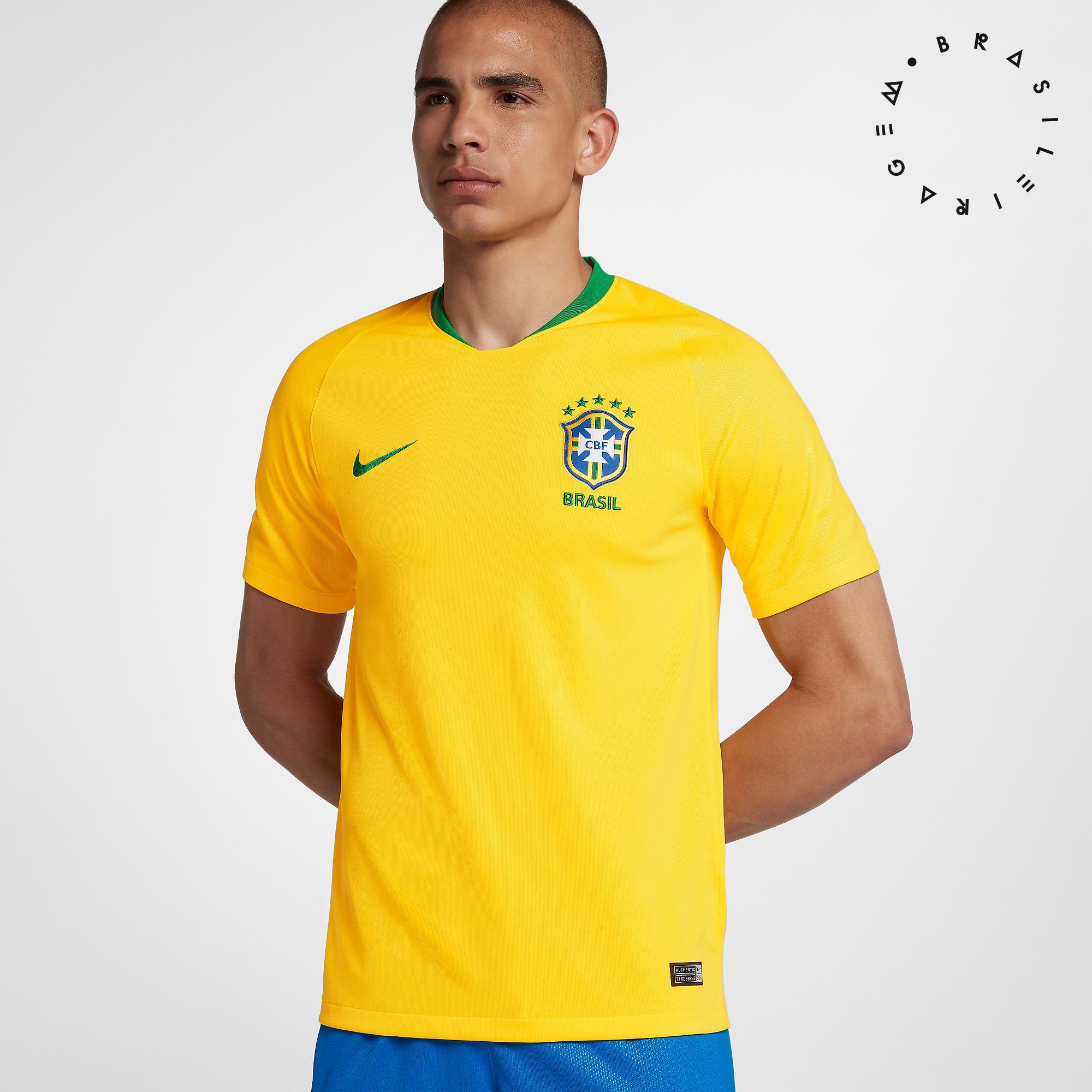 Cupom de desconto - Camisa Nike Brasil I 2018/19 Por R$249,90