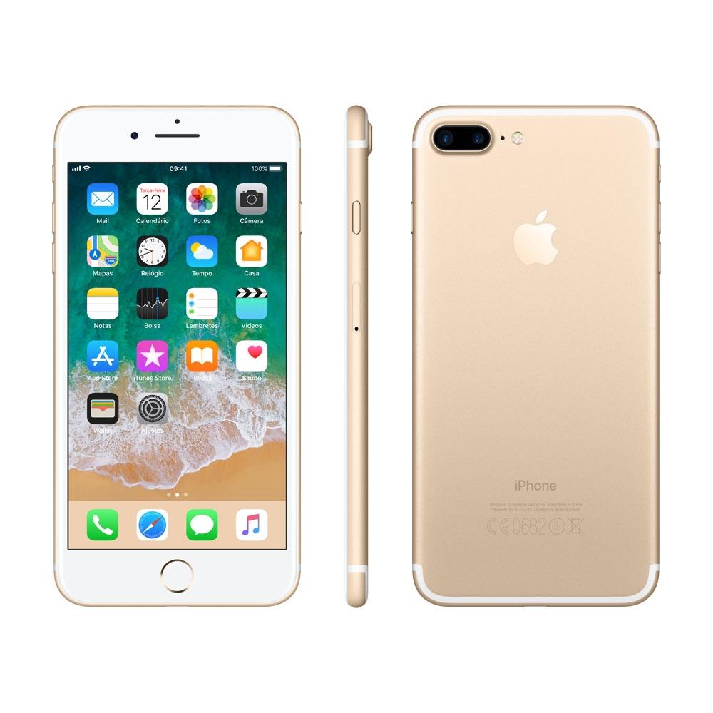 Cupom de desconto - R$528 OFF em iPhone 7 Plus Dourado, 32GB