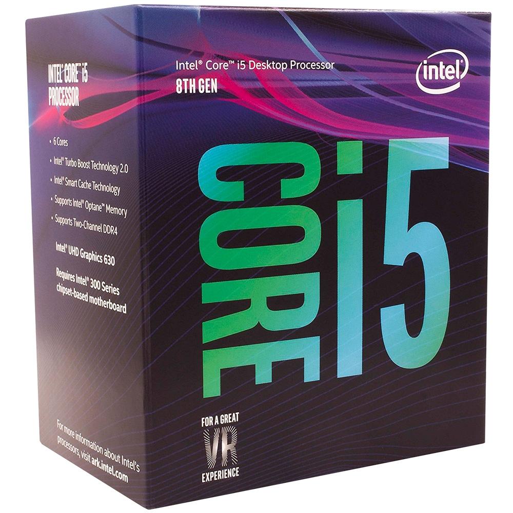 Cupom de desconto - R$122 OFF em Processador Intel Core i5-8400