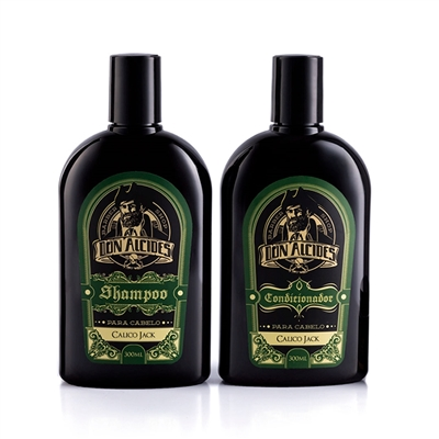 Cupom de desconto - 15% OFF em Shampoo E Condicionador Don Alcides Calico Jack