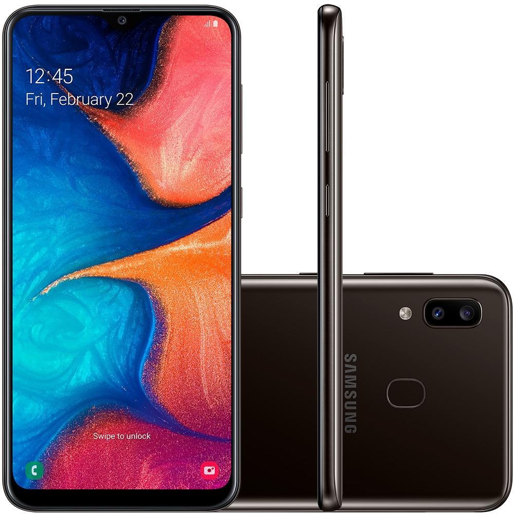 Cupom de desconto - Smartphone Samsung Galaxy A20 Por R$888,78 + Frete Grátis