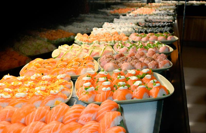 Cupom de desconto - 20% OFF em Buffet Livre de Sushis, Hots e Mais