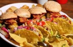 Cupom de desconto - 21% OFF em Rodízio Tex-Mex de Tacos, Burritos e Miniburgers