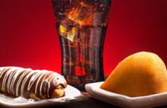 Cupom de desconto - 16% OFF em Coxinha, Fatia de Torta ou Bomba de Chocolate