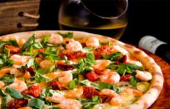 Cupom de desconto - 24% OFF em Pizza Grande + 2 Taças de Vinho