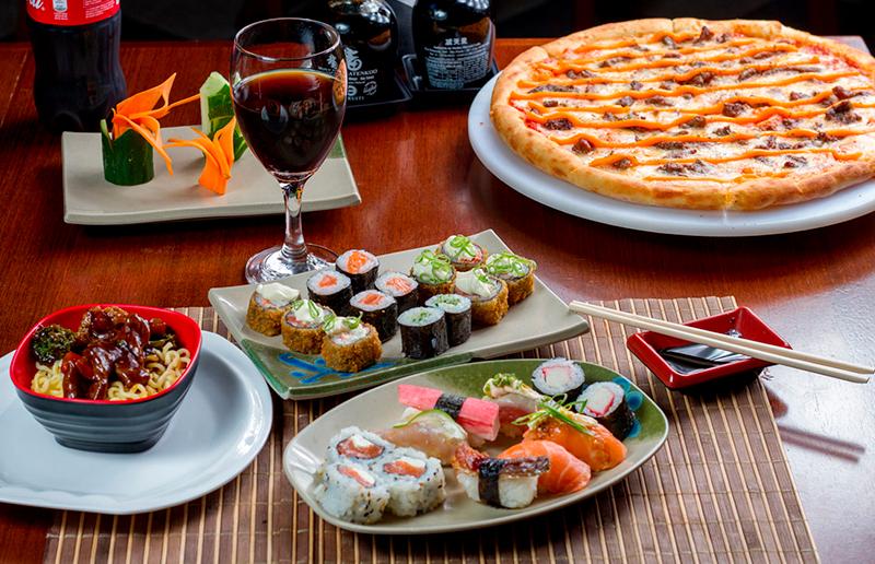 Cupom de desconto - 25% OFF em Buffet Livre de Sushi e Pizza