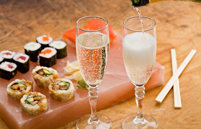 Cupom de desconto - 28% OFF em Festival de Sushis e Champanhe