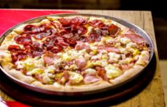 Cupom de desconto - 28% OFF em Pizza Grande com opção de Vinho
