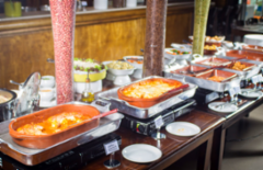 Cupom de desconto - 32% OFF em Buffet de Massas, Grelhados e Saladas