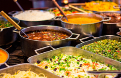 Cupom de desconto - 41% OFF em Rancho Fundo: Almoço com Comida