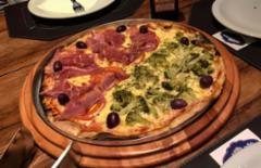 Cupom de desconto - 42% OFF em Pizza Grande. Diversos Sabores!
