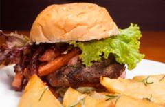 Cupom de desconto - 48% OFF em Burger Vero ou Sanduíche Vert