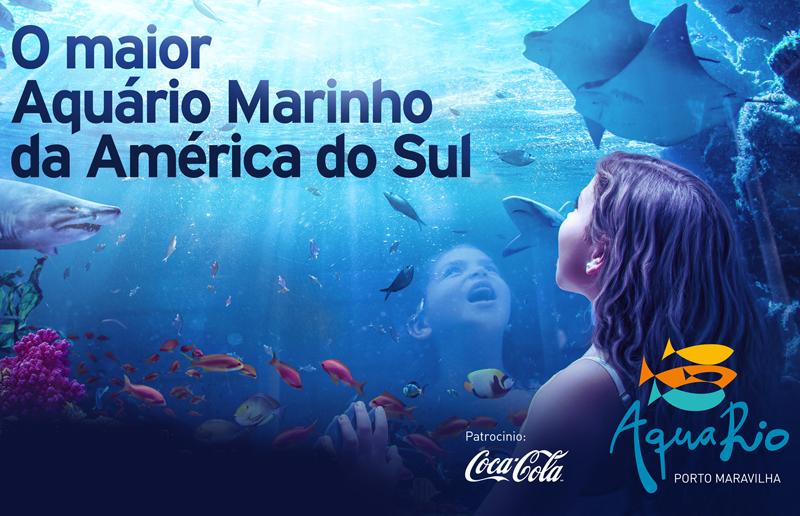 Cupom de desconto - 40% OFF em AquaRio Porto Maravilha: Ingresso.