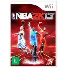 Cupom de desconto - 51% OFF em Jogo NBA 2K13 Wii