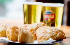 Cupom de desconto - 52% OFF em Porção de Pastel e 2 Chopes