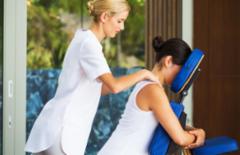 Cupom de desconto - 57% OFF em Quick Massage: 1, 2 ou 4 sessões